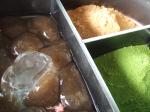 Bracken-starch dumpling