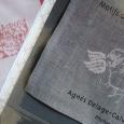 フランスのクロスステッチ図案集。 French books