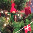 デンマークのクリスマス。 Danish Christmas decoration