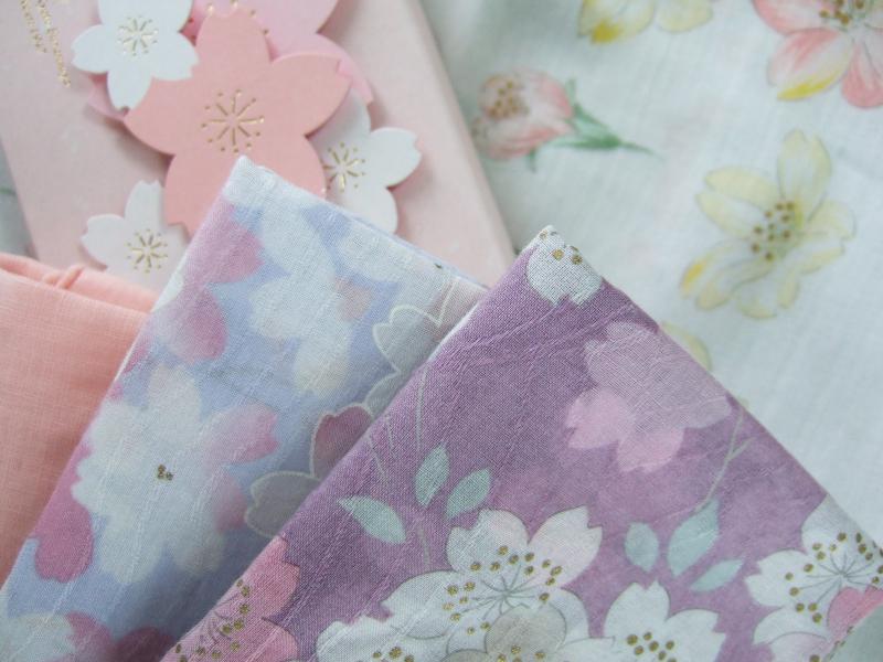 Sakura handkerchief