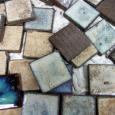 昭和期のタイル。 Ceramic tiles