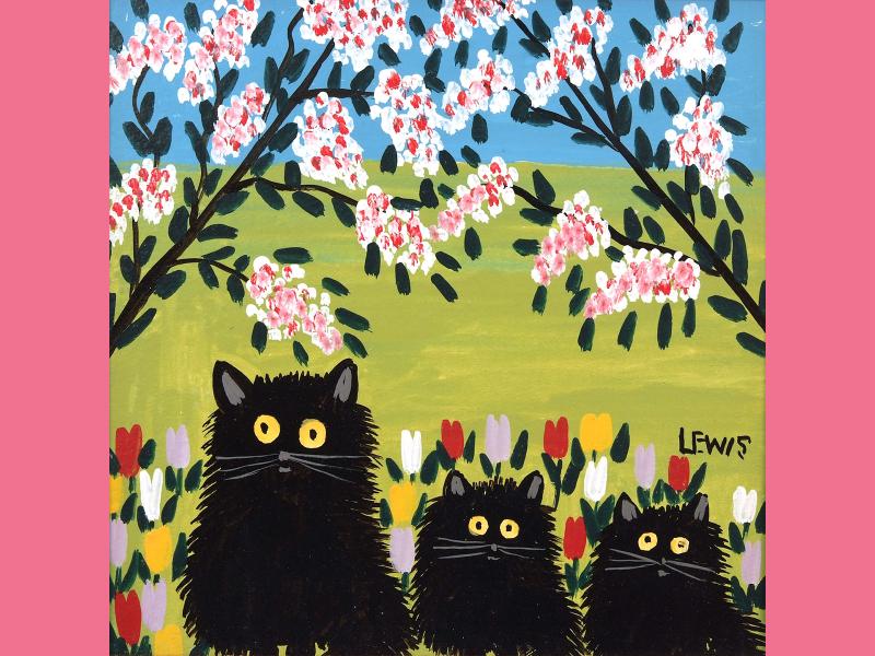 Maudie 3 cats