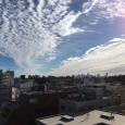 鰯雲、鱗雲。 Autumn sky