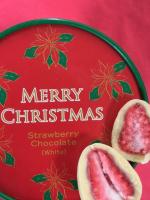 Freeze-dried strawberry & white chocolate