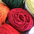 廃番直前に。 La droguerie's yarn
