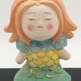 妖怪アマビエの博多人形! Amabie Hakata doll by S Tobata