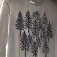 心の中の森。Needle-leaved trees