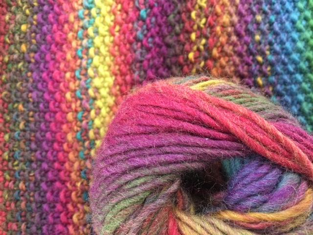 虹色毛糸。 Vesper