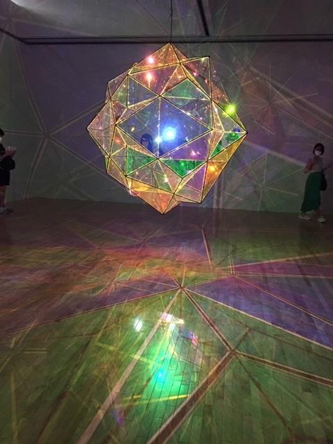 オラファー・エリアソン。 Exhibition of Olafur Eliasson in Tokyo