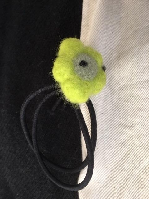 ウニッコの髪ゴム。 Unikko hair tie